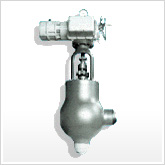 tve motor operated high differential pressure regulating valve